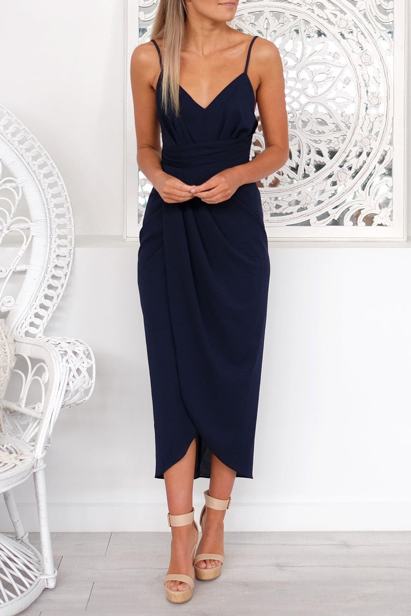 Days Of Glamour Dress Navy