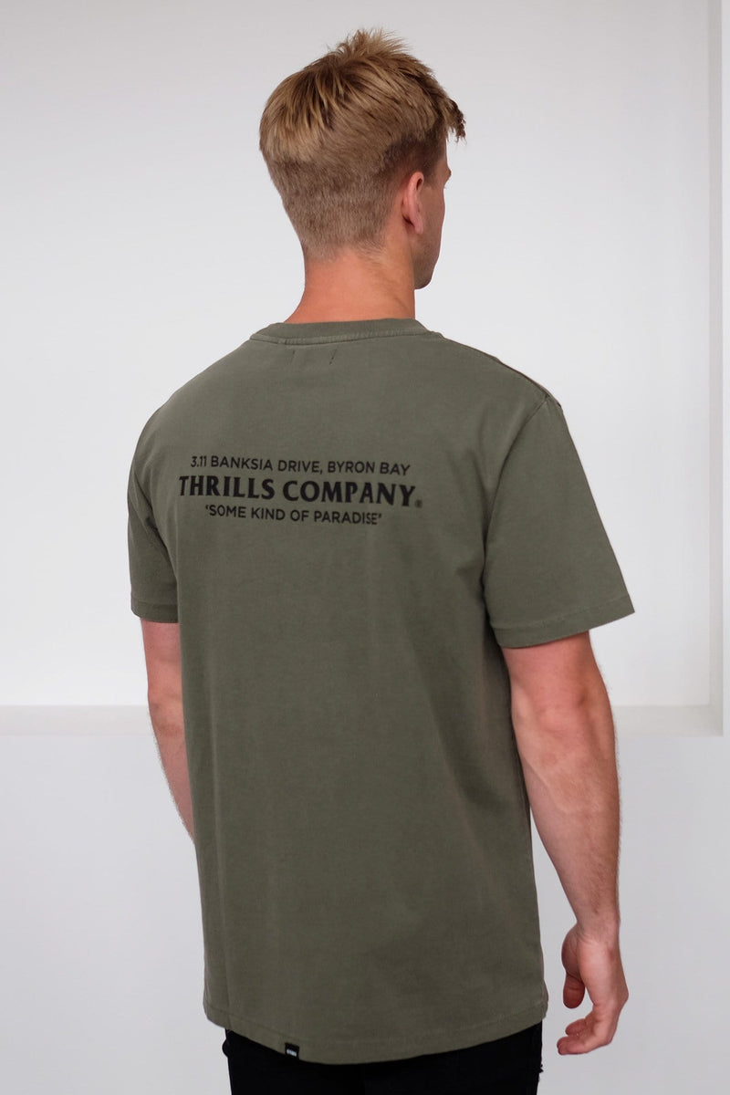 Destination Merch Fit Tee Army Green
