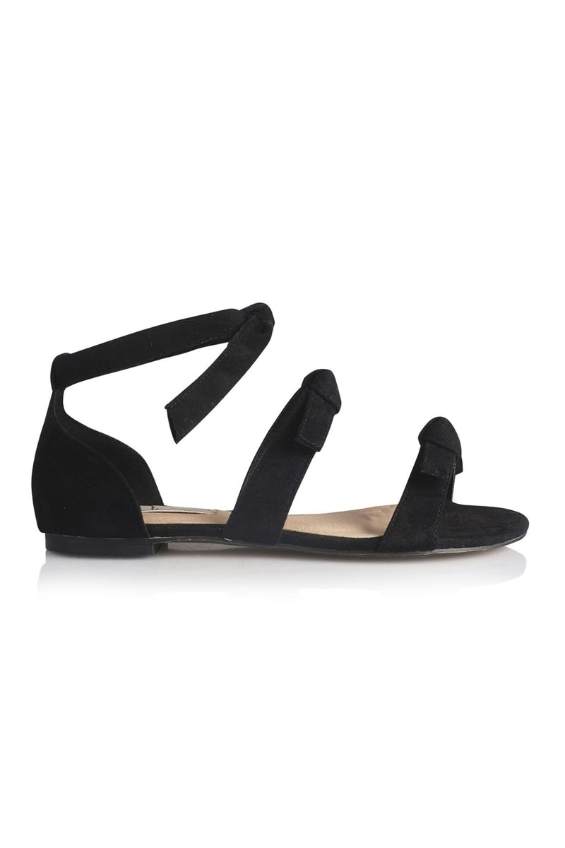 Dominica Sandal Black Suede Billini - Jean Jail