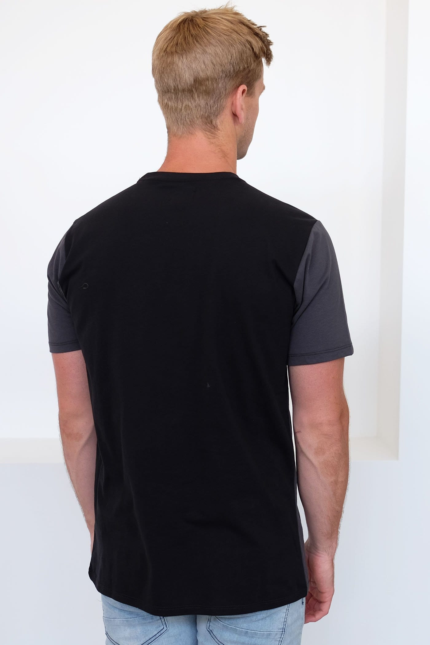 Dri-Fit Blocked Top T-Shirt Anthracite