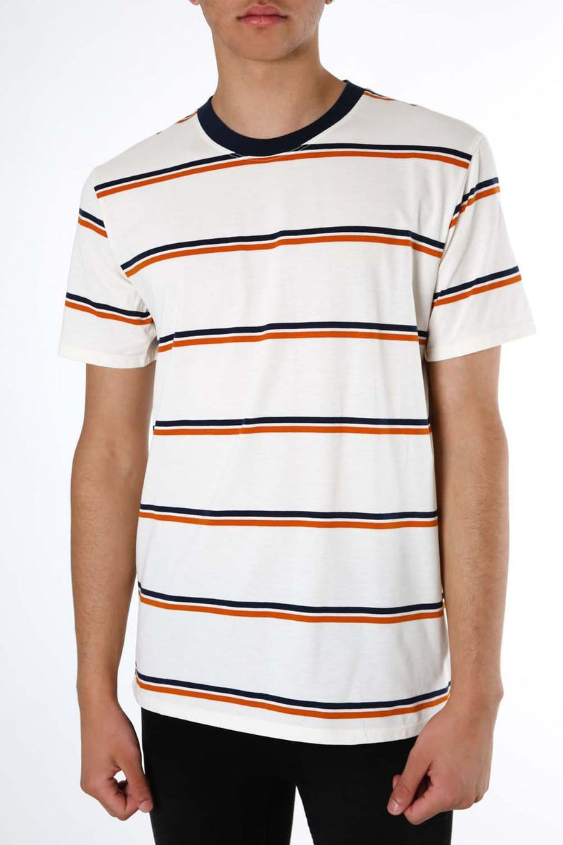 Dri-Fit Harvey Stripe T-Shirt Pale Ivory Hurley - Jean Jail
