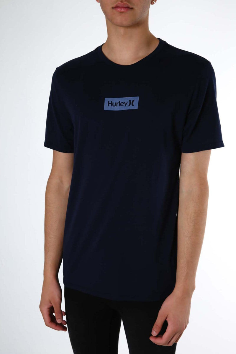 Dri-Fit One & Only Small Box T-Shirt Obsidian Hurley - Jean Jail
