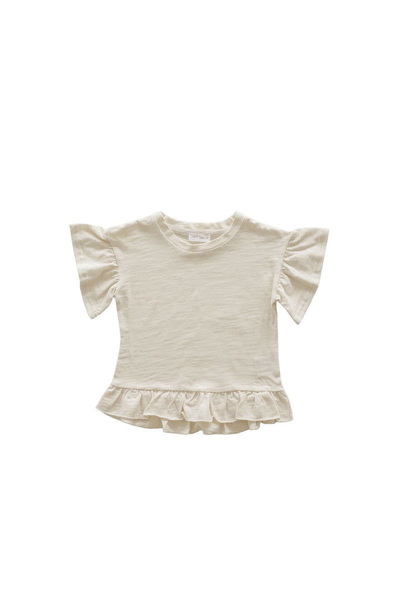 Eden Top Cloud Slub Cotton