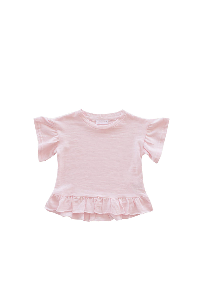 Eden Top Sugar Plum Slub Cotton