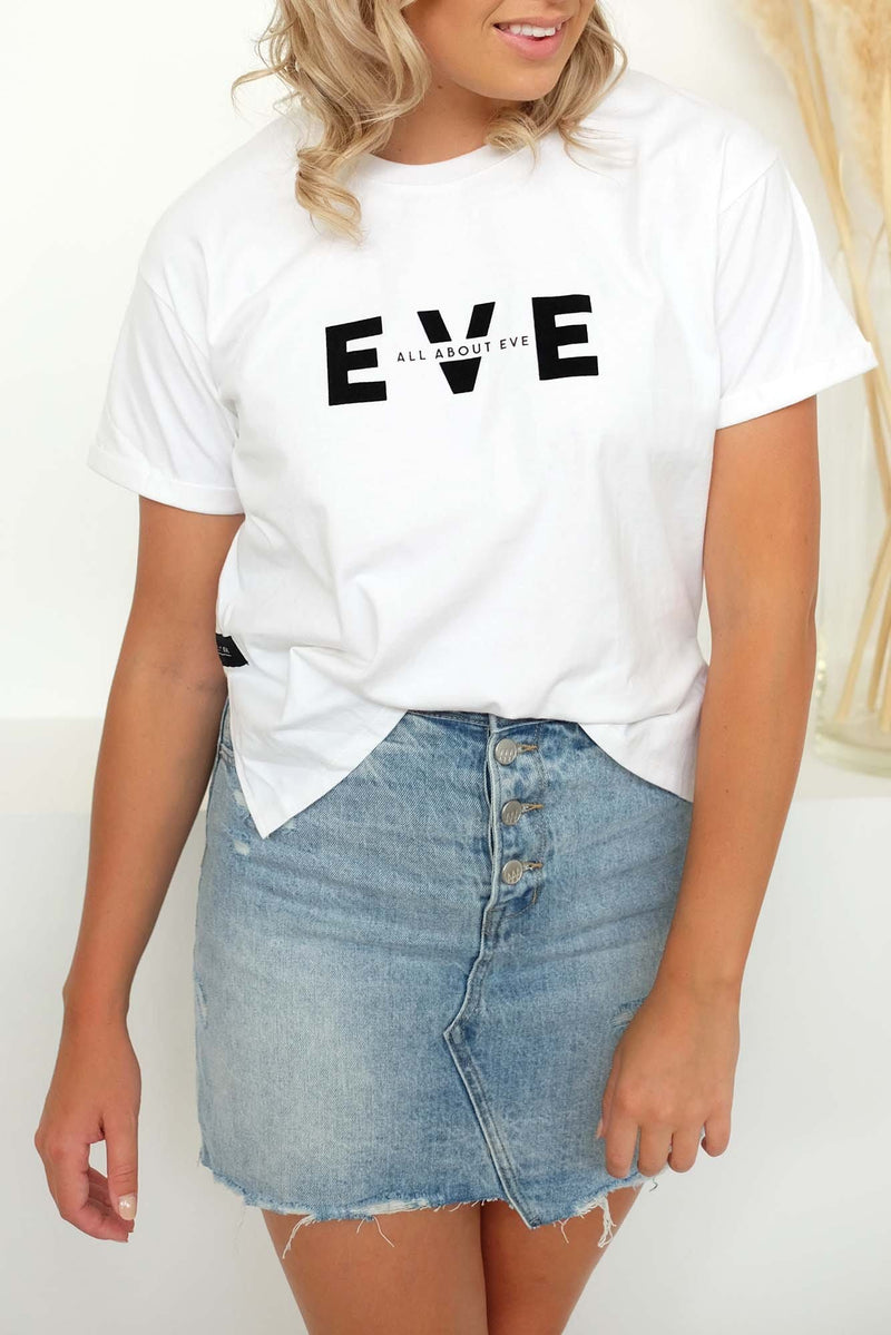 Exhibit Tee White All About Eve - Jean Jail