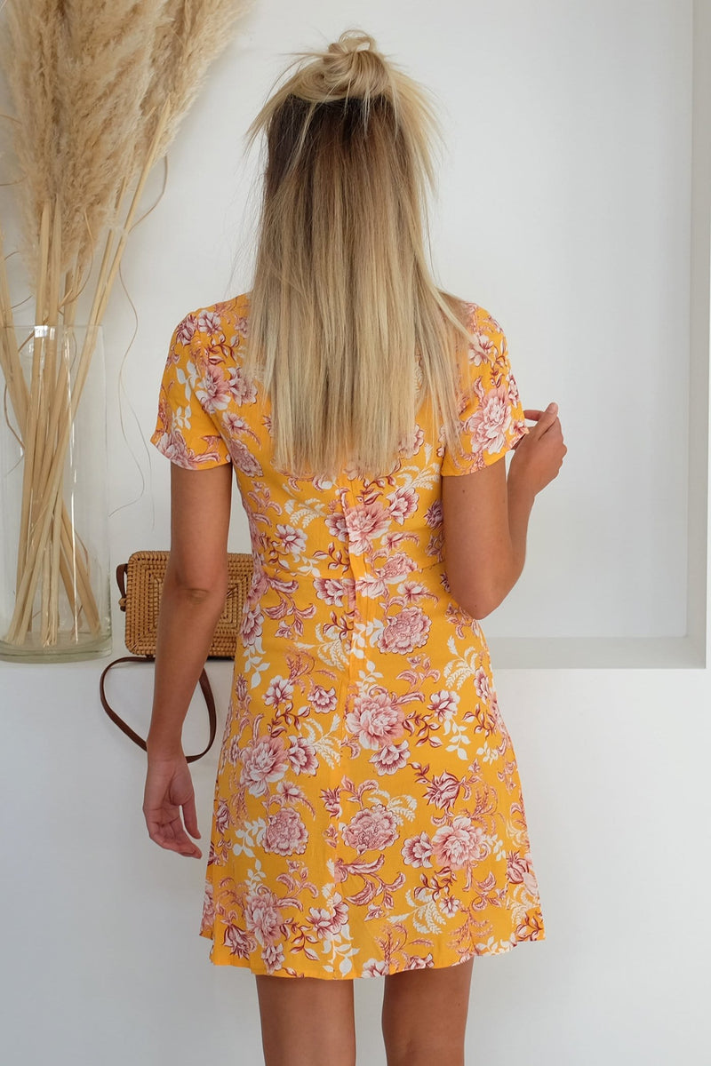 Emersyn Dress Summer Floral Print