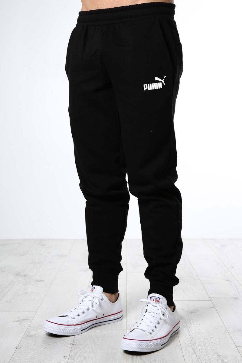 Essentials Knitted Fleece Pants Puma Black Puma - Jean Jail
