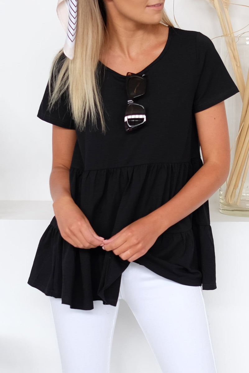 Eternity Top Black