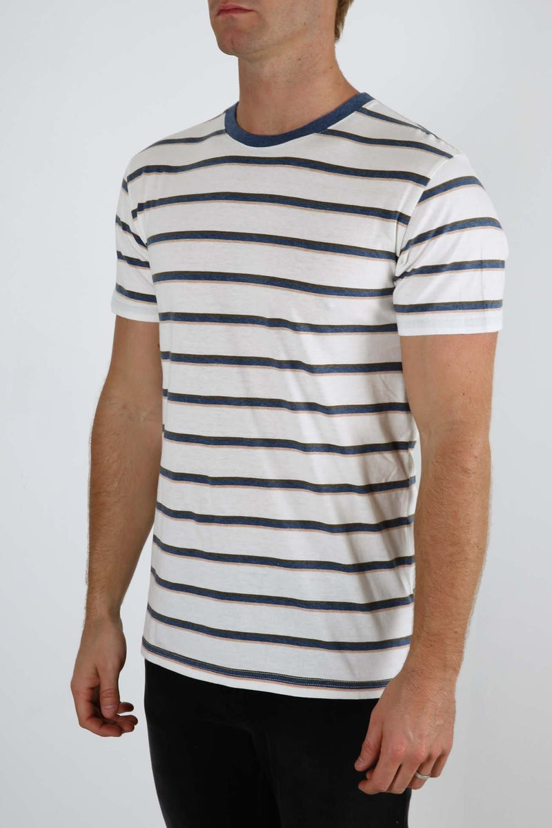 Everyday Stripe T-Shirt Sea Rhythm - Jean Jail