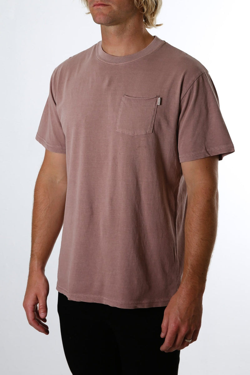 Everyday Wash T-Shirt Wine