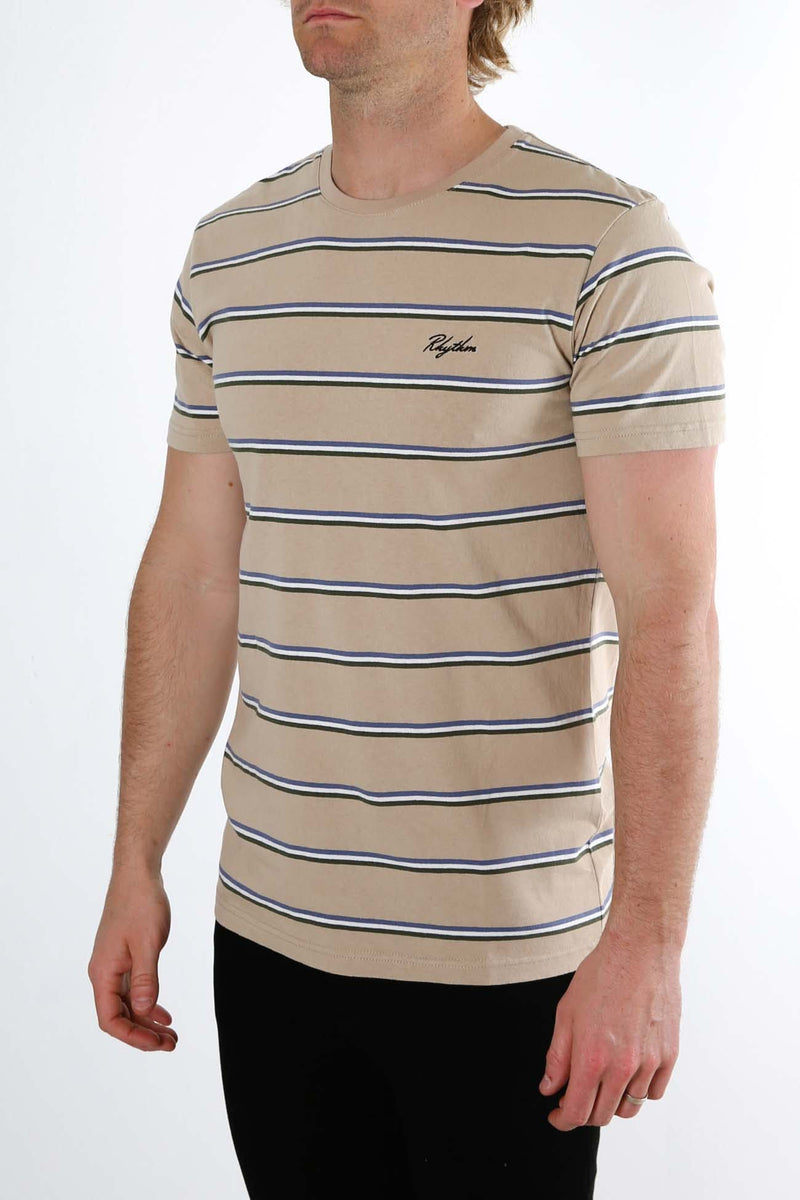 Everyday Stripe T-Shirt Sand Rhythm - Jean Jail