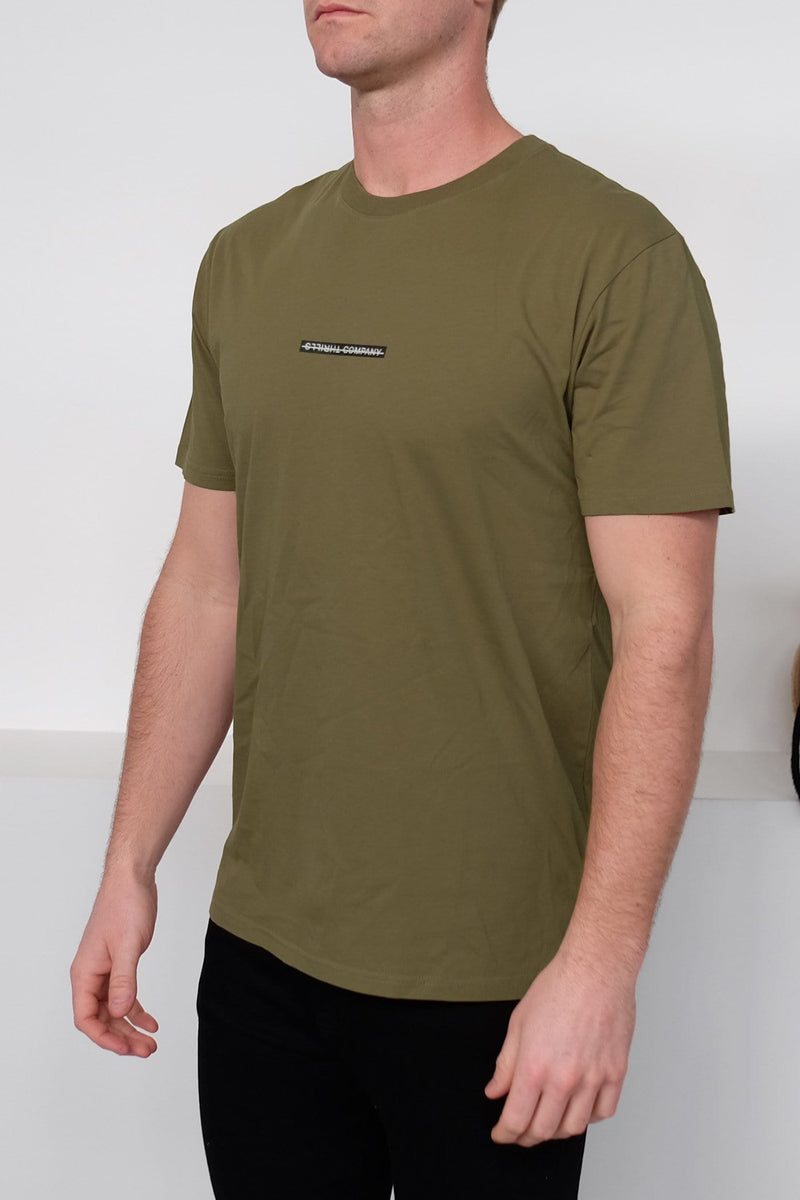 Flat Out Tee Army Green Thrills - Jean Jail