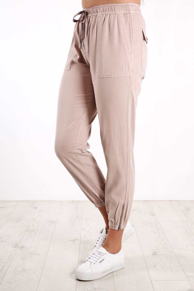 Florence Pant Washed Pink