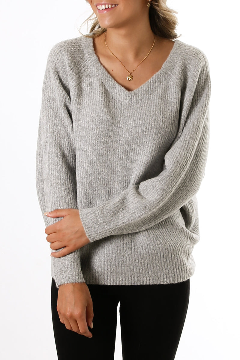 Flur Jumper Grey Marle