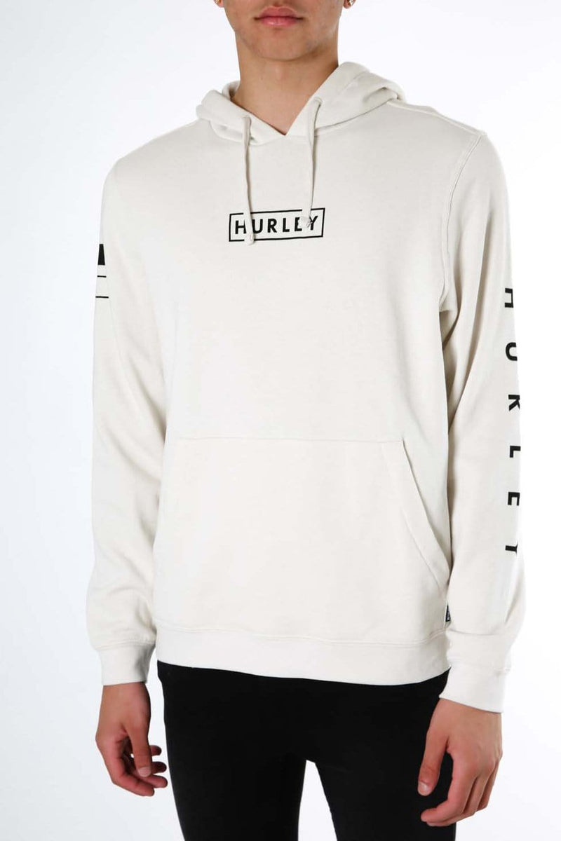 Fragment Pullover Fleece Light Bone Hurley - Jean Jail