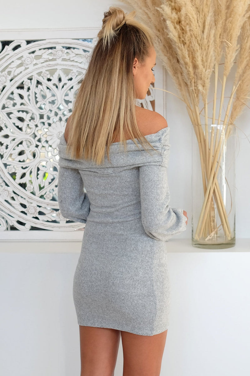 Freedoms Calling Dress Grey Marle