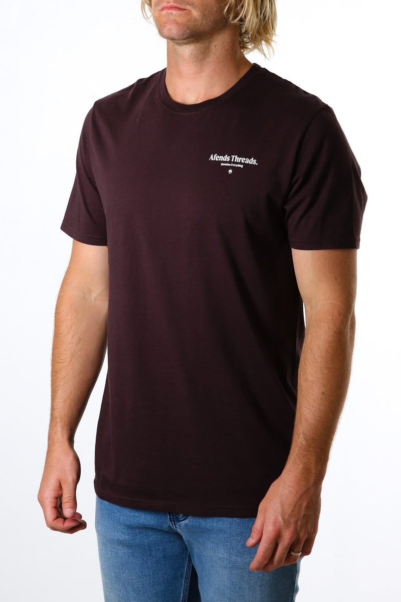 Full Circle Standard Fit Tee Mulberry