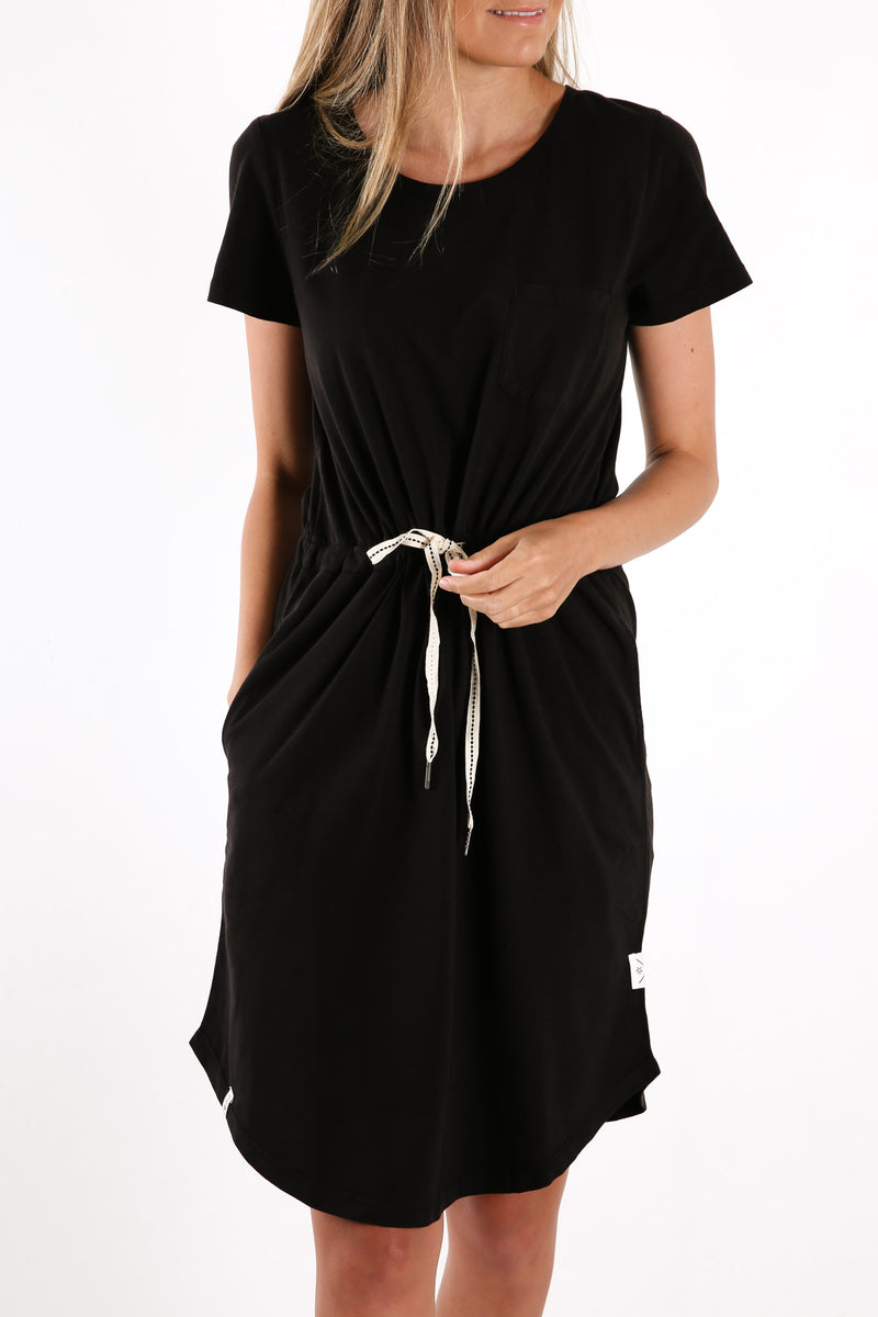 Fundamental Harper Dress Black