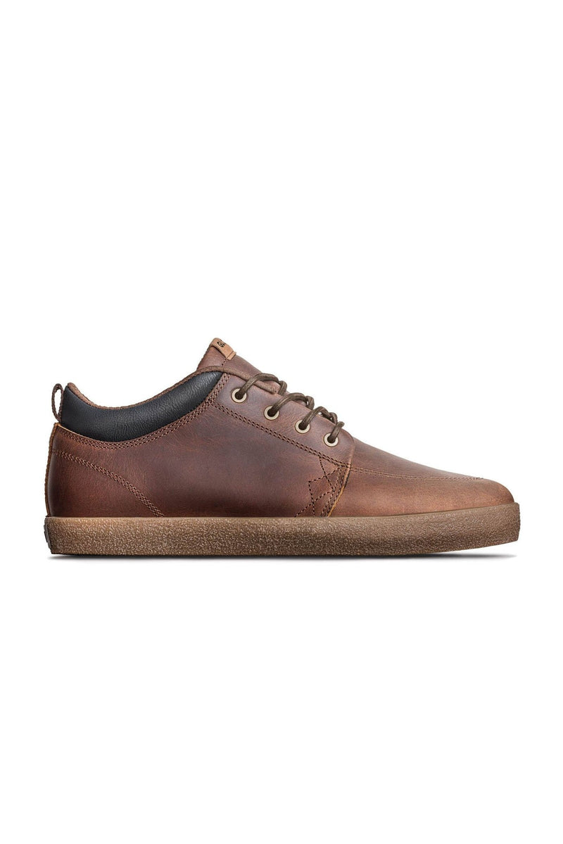 GS Chukka Brown Leather Crepe Globe - Jean Jail