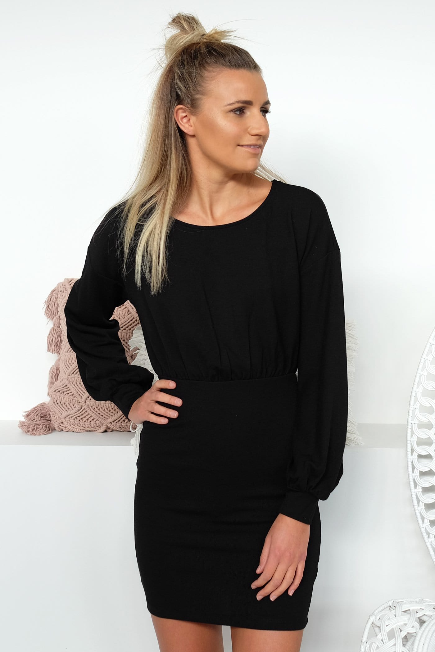 Gallant Dress Black