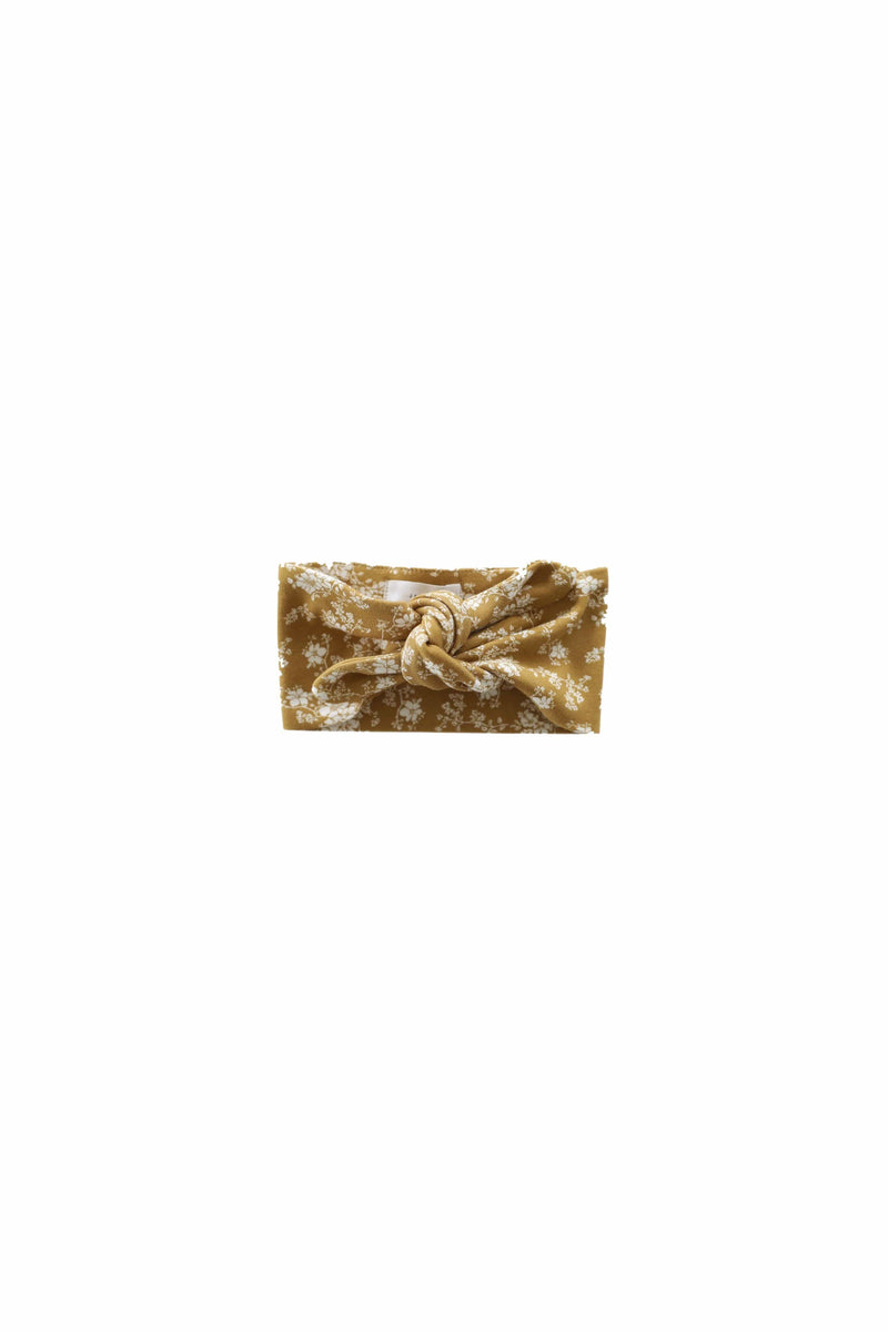 Headband Golden Floral