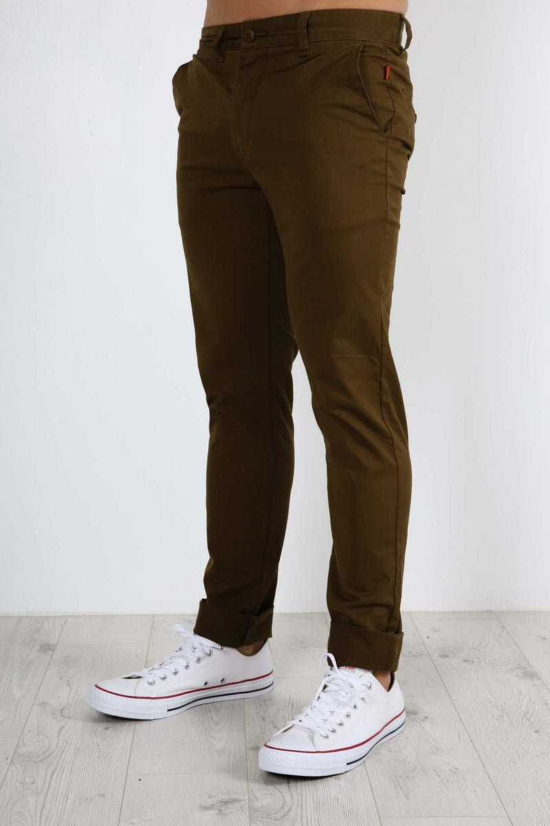 Goodstock Chino Field Green Globe - Jean Jail