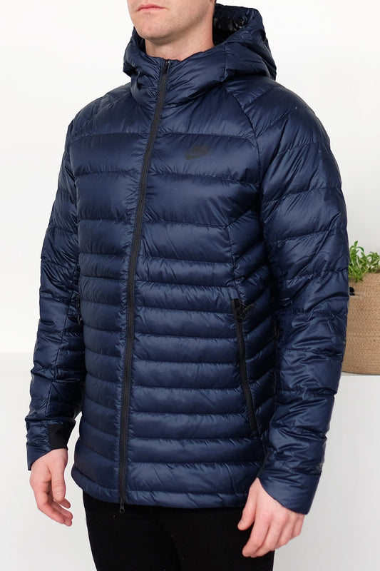 Guild Hooded Down Fill Jacket Obsidian