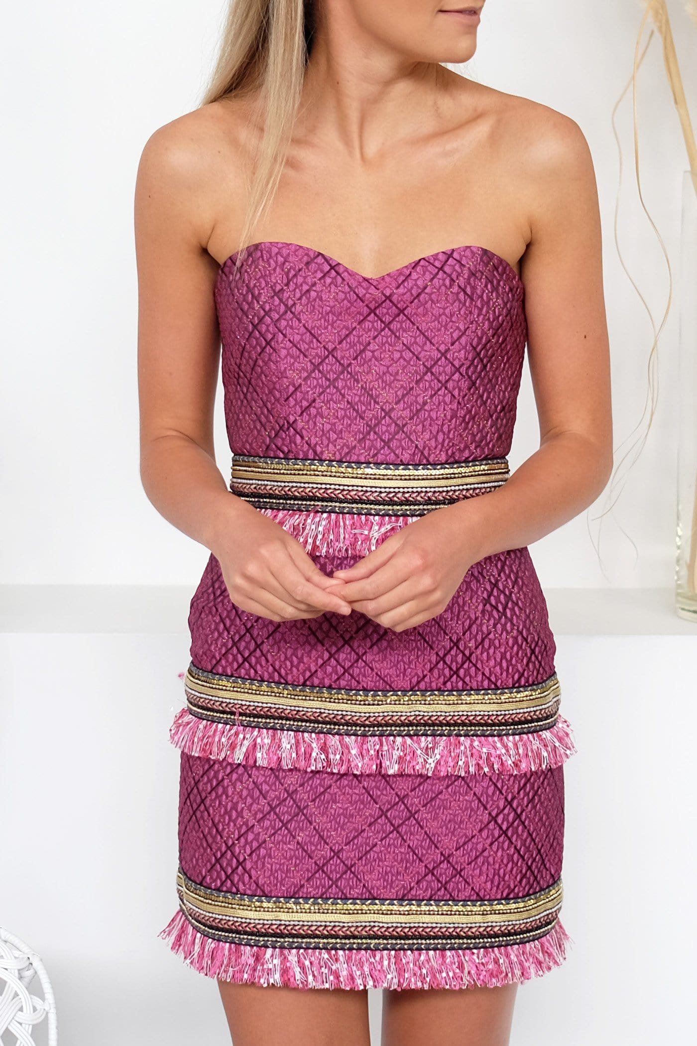 Havanna Dress Pink