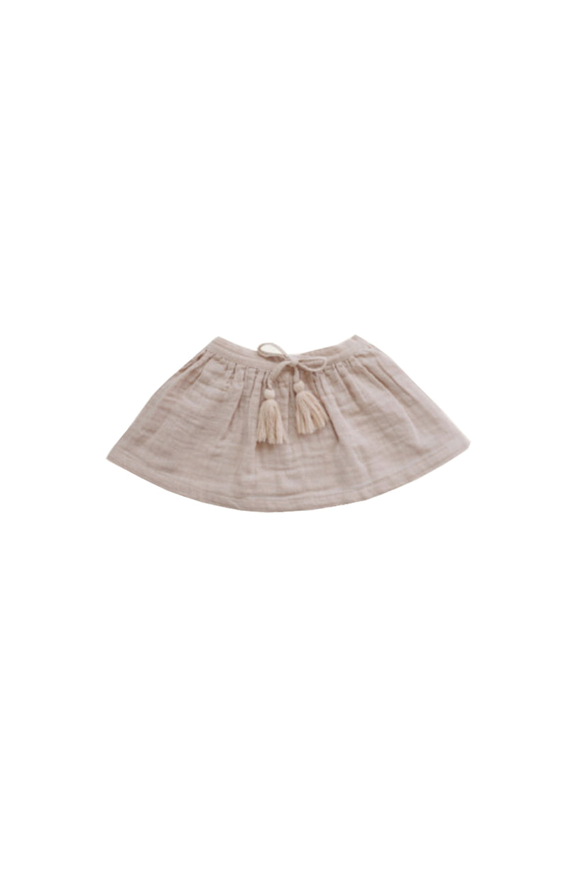 Organic Cotton Muslin Hazel Skirt Rose Dust
