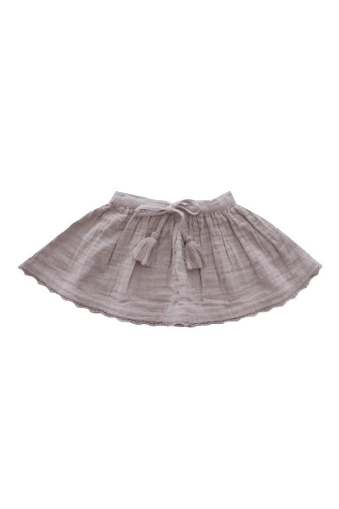 Organic Cotton Muslin Lace Hazel Skirt Sweet Pea