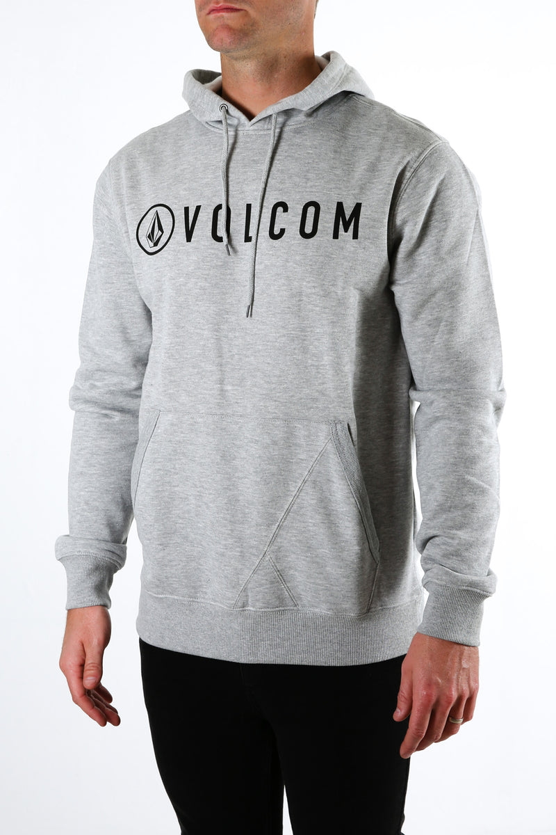Header Pullover Heather Grey