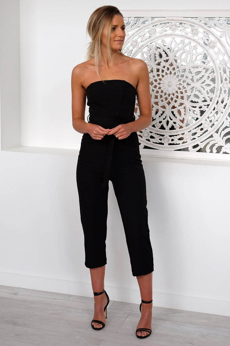 Heaven To Me Jumpsuit Black