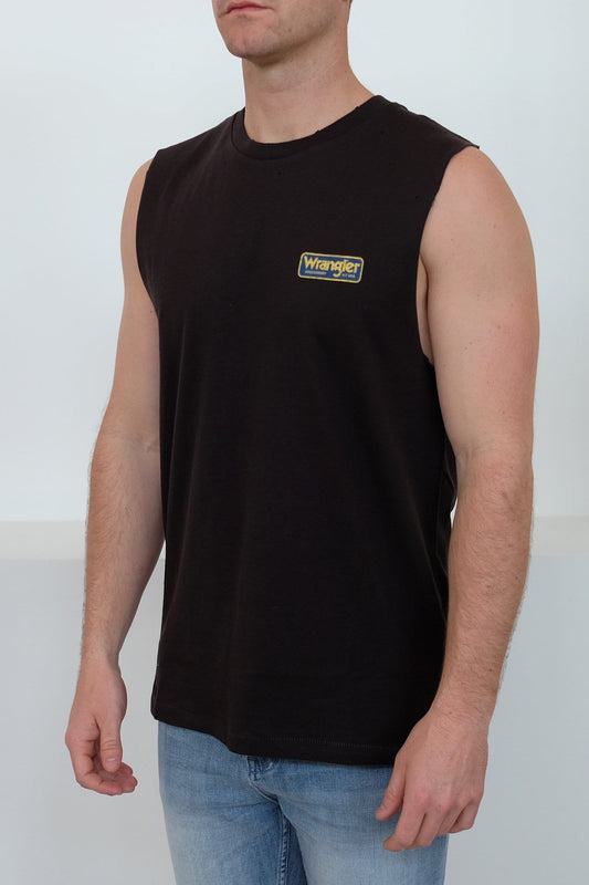 Heavy Fuel Muscle Worn Black