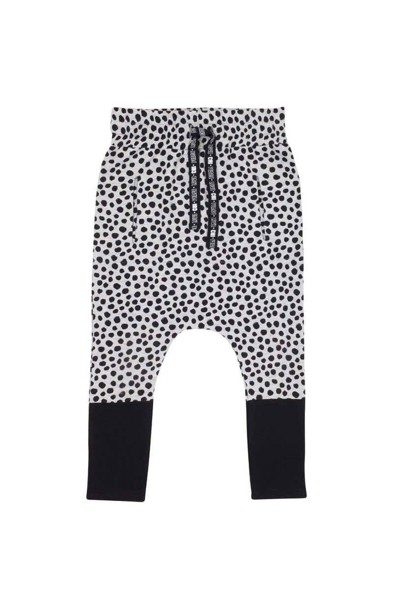 Hendrix Pant Light Grey Marle Spot