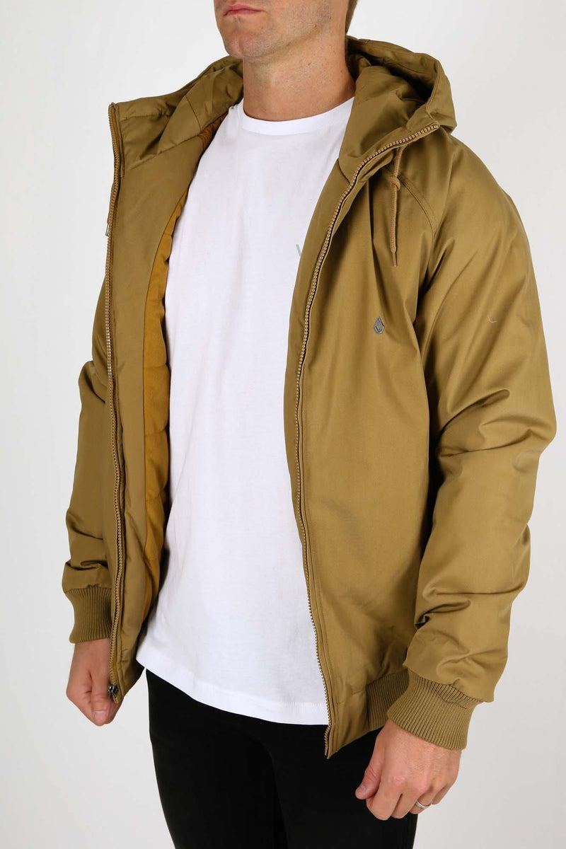Hernan Jacket Burnt Khaki Volcom - Jean Jail