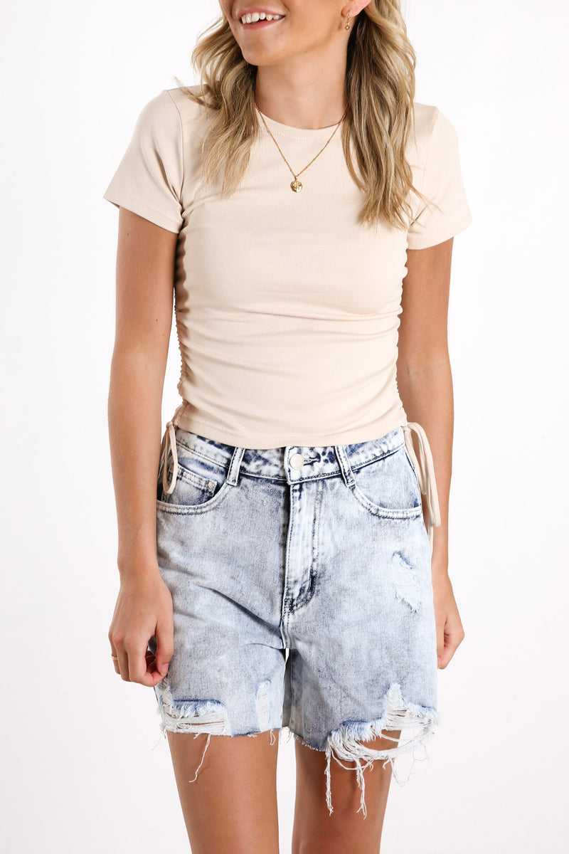 Hollie Drawstring Top