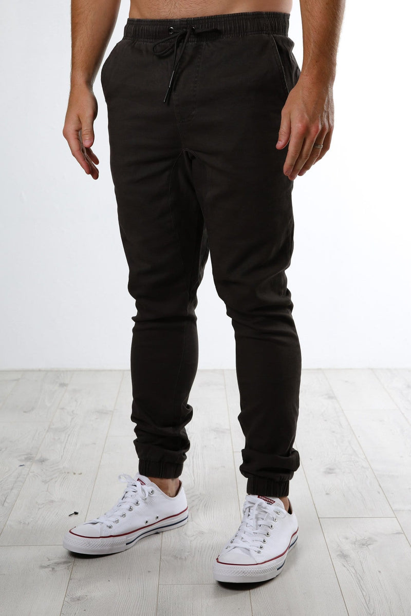 Hook Out Elastic Pant Coal