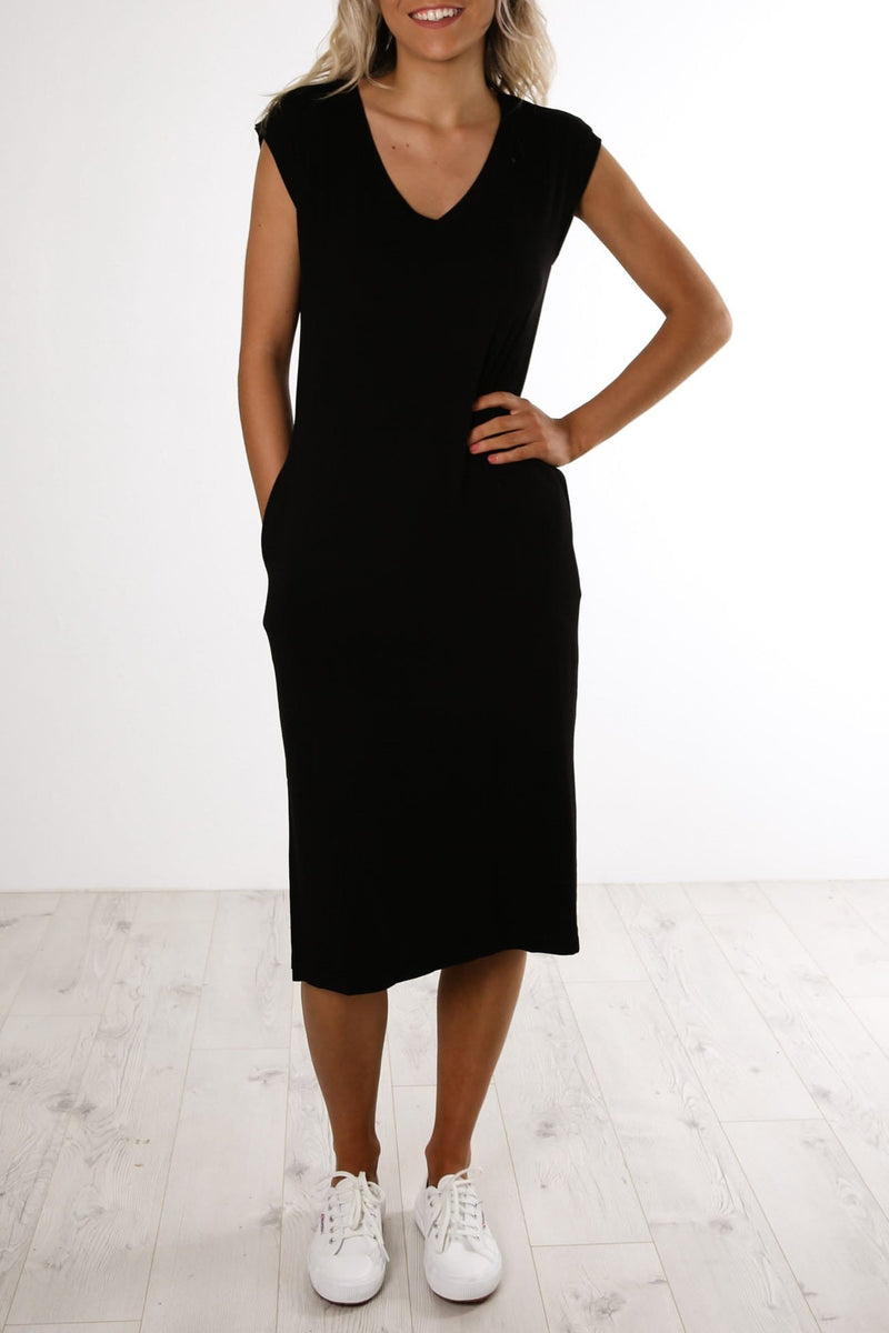 Hvar Midi Dress Black