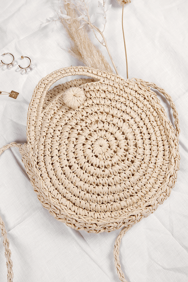Shabanna Straw Bag Beige
