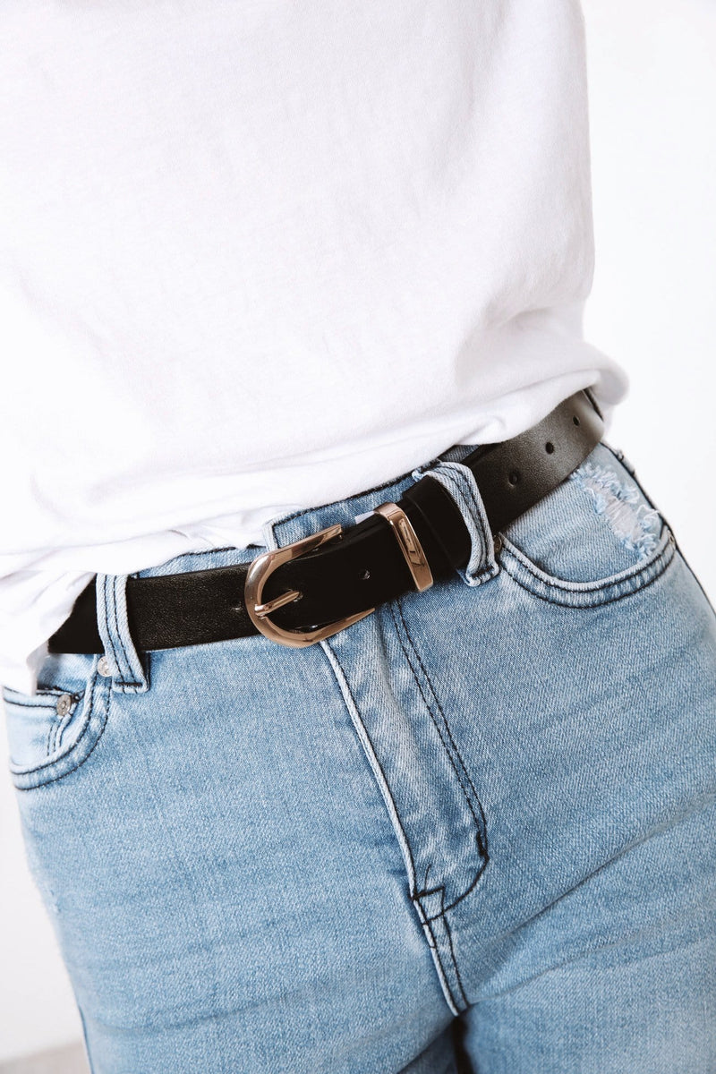 Vogue Belt Black