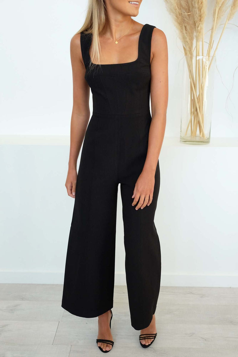 Impulse Jumpsuit Black C/MEO COLLECTIVE - Jean Jail
