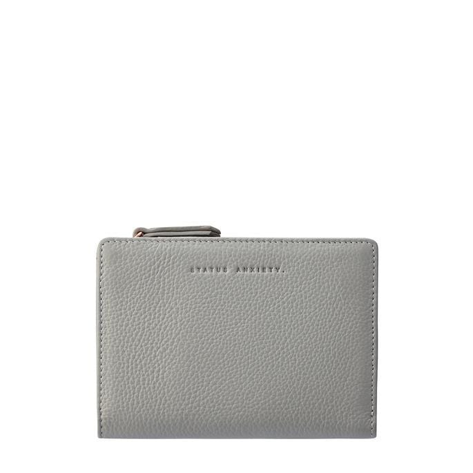 Insurgency Wallet Light Grey Status Anxiety - Jean Jail