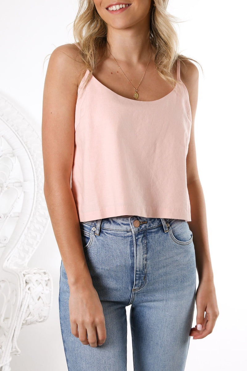 Isla Scoop Cami Shell
