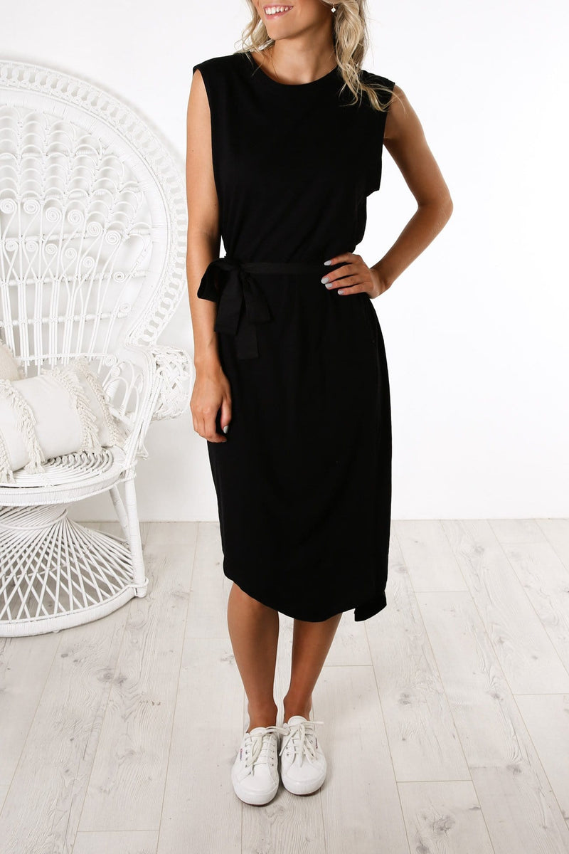 Jimbaran Bay Dress Black