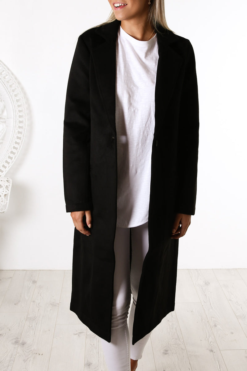 Kennedy Coat Black