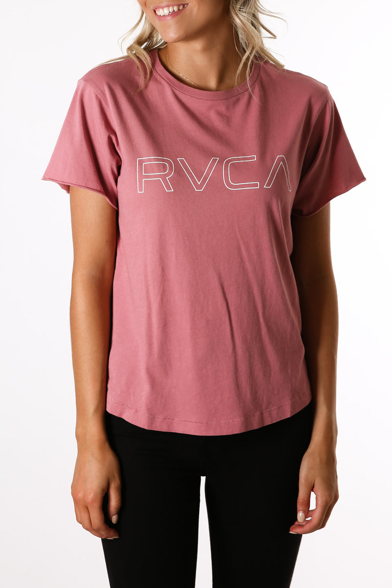 Keyline RVCA Box Tee Plum Berry