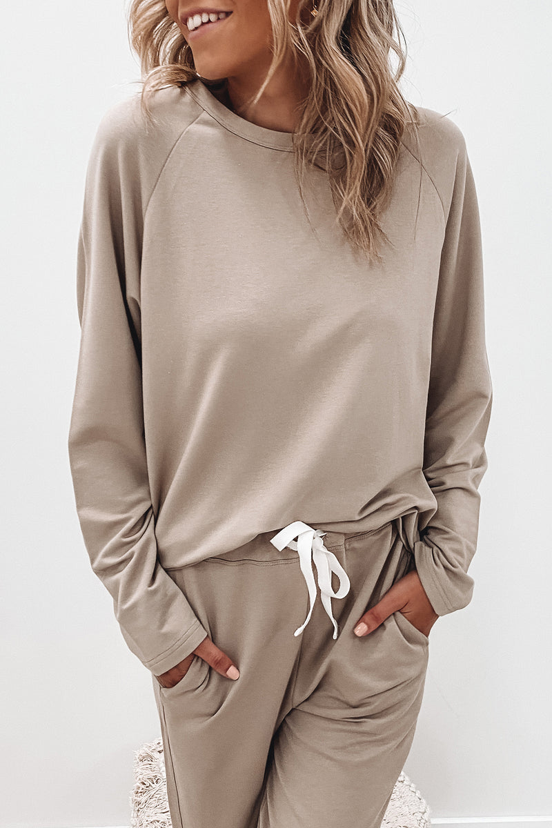Kin Fleece Top Husk