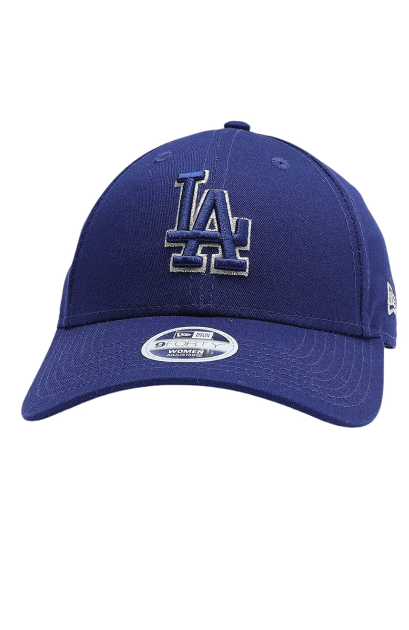 Los Angeles Dodgers 9FORTY Strapback Royal Blue Silver Lining