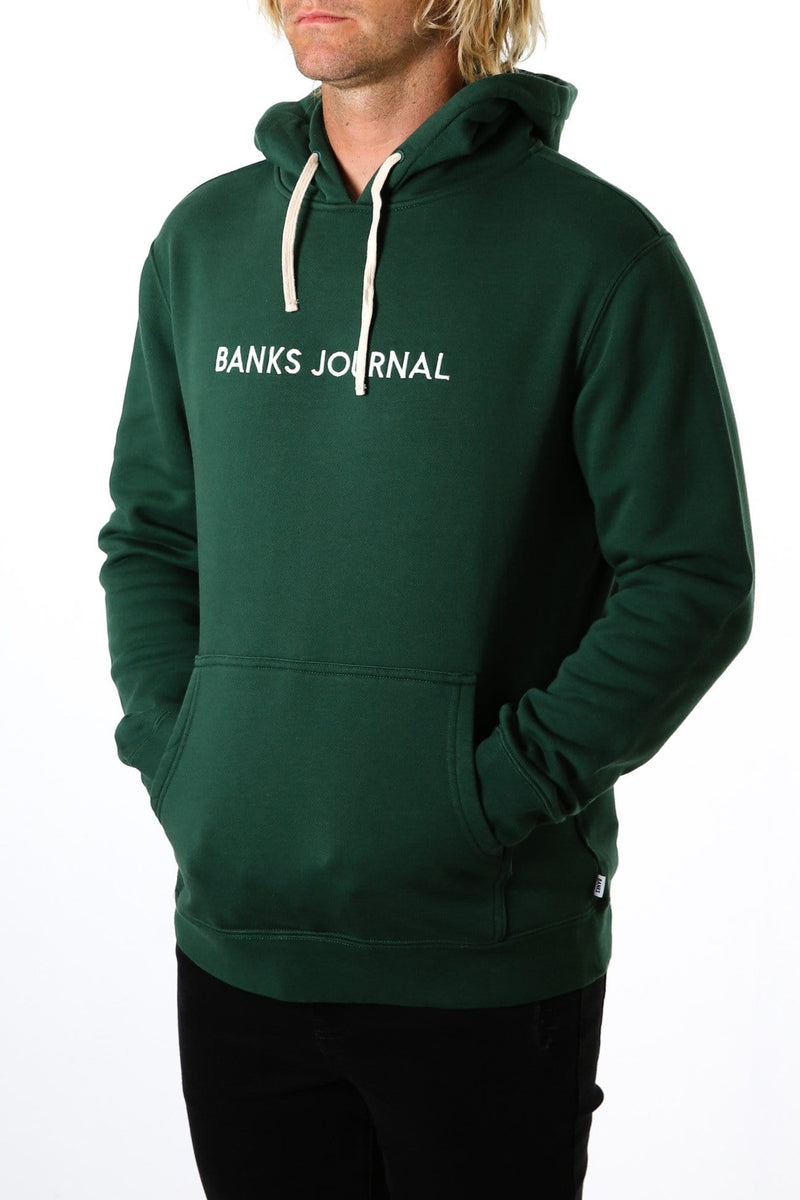 Label Graphic Fleece Seaweed