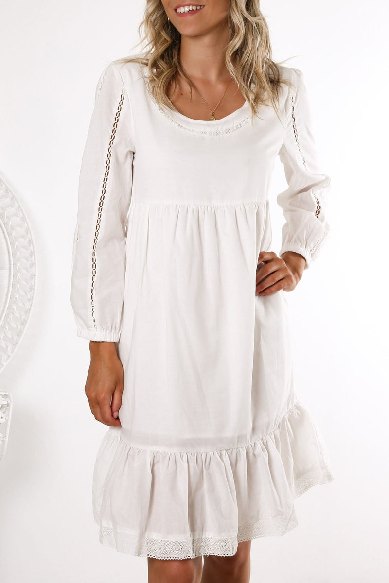 Lilly Dress White